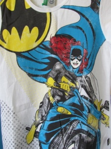 TEE SHIRT BENETTON ENFANT dc comics